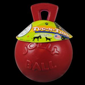 Jolly Pets Tug-N-Toss Red 10