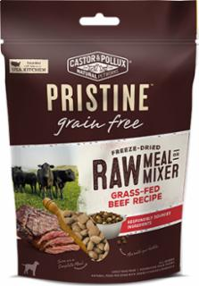 Castor & Pollux Pristine Freeze Dried Raw Meal or Mixer Grain Free Grass-Fed Beef Recipe 6/12Z