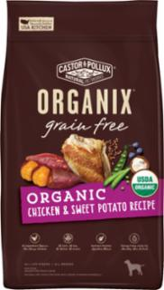 Castor & Pollux Organix Grain Free Organic Chicken & Sweet Potato Recipe 4# C=5