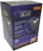 Terrablue Wire Cage Clamp Lamp Chrome
