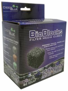 Deep Blue Bioblocks Cube Carbon 60ct