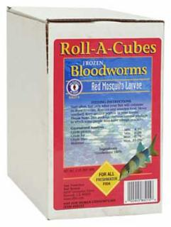 San Francisco Frozen Bloodworm Cubes 2lb