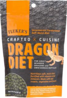 Fluker's Crafted Cuisine Adult Bearded Dragon Diet 6.75Z