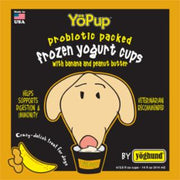 Yoghund All Natural Banana & Peanut Butter Frozen Yogurt *REPL 922005