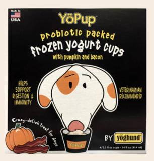 Yoghund All Natural Pumpkin & Bacon Frozen Yogurt   *REPL 922018