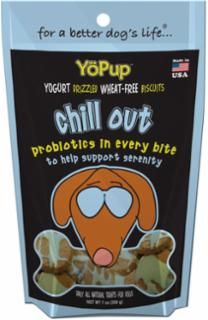 Yoghund Yopup Chill Out Yogurt Drizzled Wheat Free Biscuits 7z