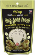 Yoghund Yopup Dog Gone Fresh Yogurt Drizzled Wheat Free Biscuits 7z
