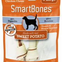 SmartBones Sweet Potato Large 3 Pk.