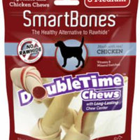 SmartBones DoubleTime Bones Chicken Medium 3 Pk