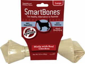 Smartbones Large Chicken Value Single 2.9z