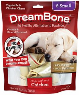 Dreambone Chicken Dog Chew Small 6pck