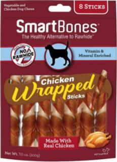 SmartBones Chicken Wrap Sticks Chicken 8 Pk