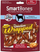 SmartBones Chicken Wrap Mini Sticks Chicken 15 Pk