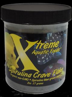 Xtreme Spirulina Crave Flakes, Finicky Eaters 2oz