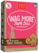 Wag More Bark Less Original Oven Baked Treats with Sweet Potatoes  16Z