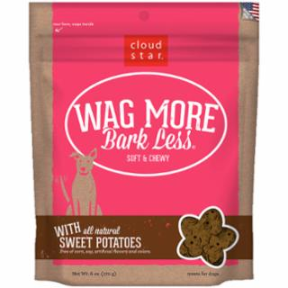Wag More Bark Less Original Soft & Chewy Treats with Sweet Potatoes 6Z