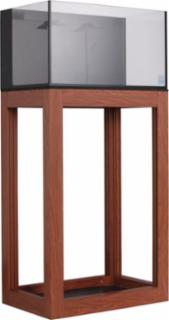 Innovative Marine Nuvo 20gal Nano Open Aluminum Profile Stand Wood Finish