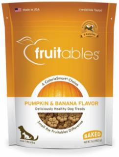 Fruitables Dog Treats Pumpkin & Banana 7 oz.