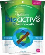 Fruitables BioActive Fresh Mouth Dental Chews Tiny  5.4Z C=8