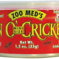 Zoo Med Can Of Crickets Mini 200 1.2 oz.