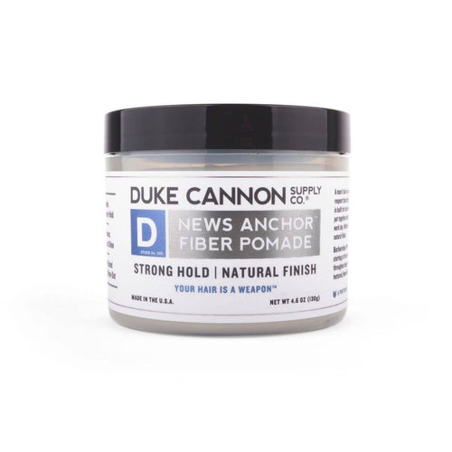 Duke Cannon - News Anchor Fiber Pomade