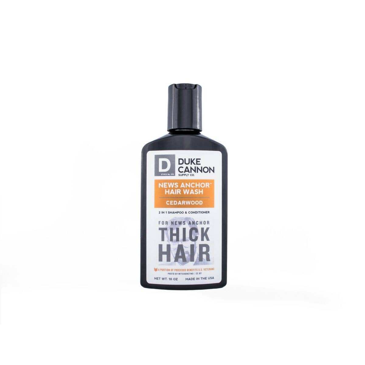 Duke Cannon - News Anchor 2-in-1 Hair Wash - Cedarwood