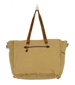 Hunter Canvas and Hair-on Bag