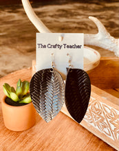 Load image into Gallery viewer, TCT Leather Earring