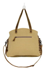 Wild in Woods Canvas and Hair-on Bag