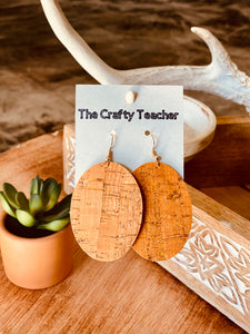 TCT Leather Earring