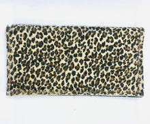 Load image into Gallery viewer, Hair-On Mini Leopard Wallet