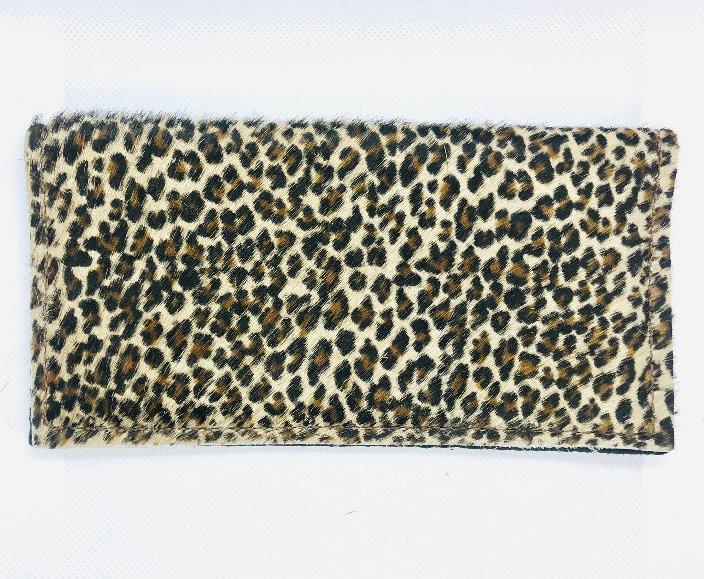 Hair-On Mini Leopard Wallet
