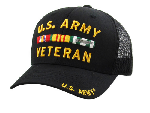 US Army Veteran Mesh Back