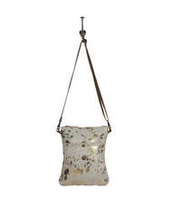 Load image into Gallery viewer, Speckled Leather Crossbody Bag