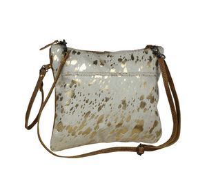 Sassy Leather Crossbody Bag