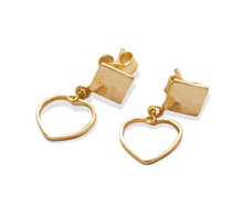 Load image into Gallery viewer, Love Triangle Earrings