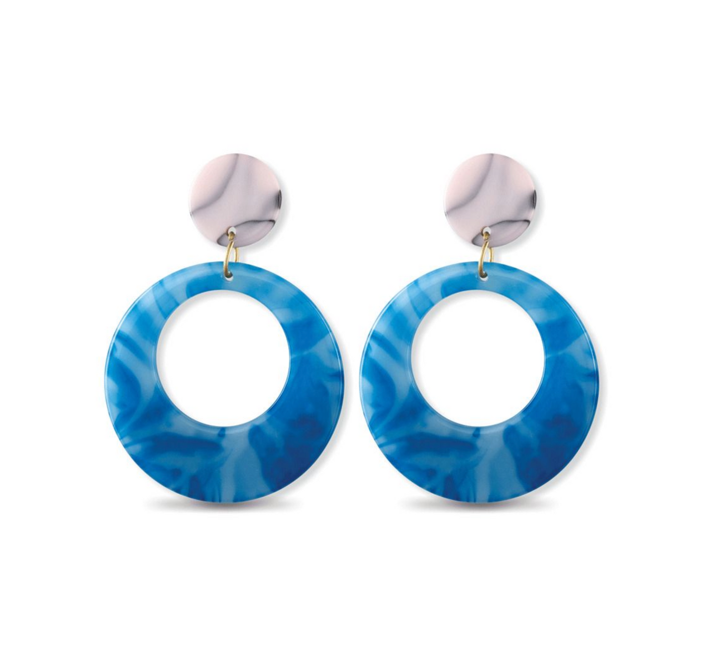 Sky's The Limit Hoop Earrings