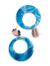 Load image into Gallery viewer, Sky's The Limit Hoop Earrings
