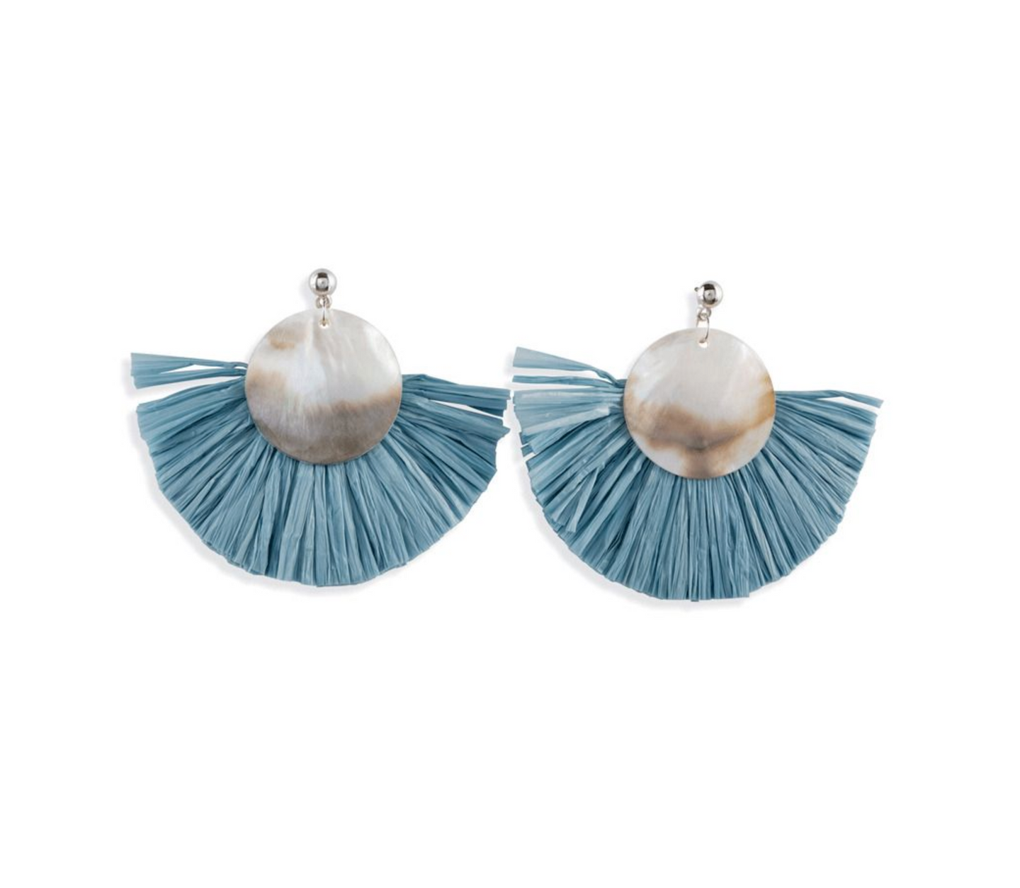 Baby Blue Pearl Earrings
