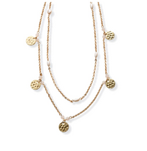 Load image into Gallery viewer, Bedazzled Layer Necklace