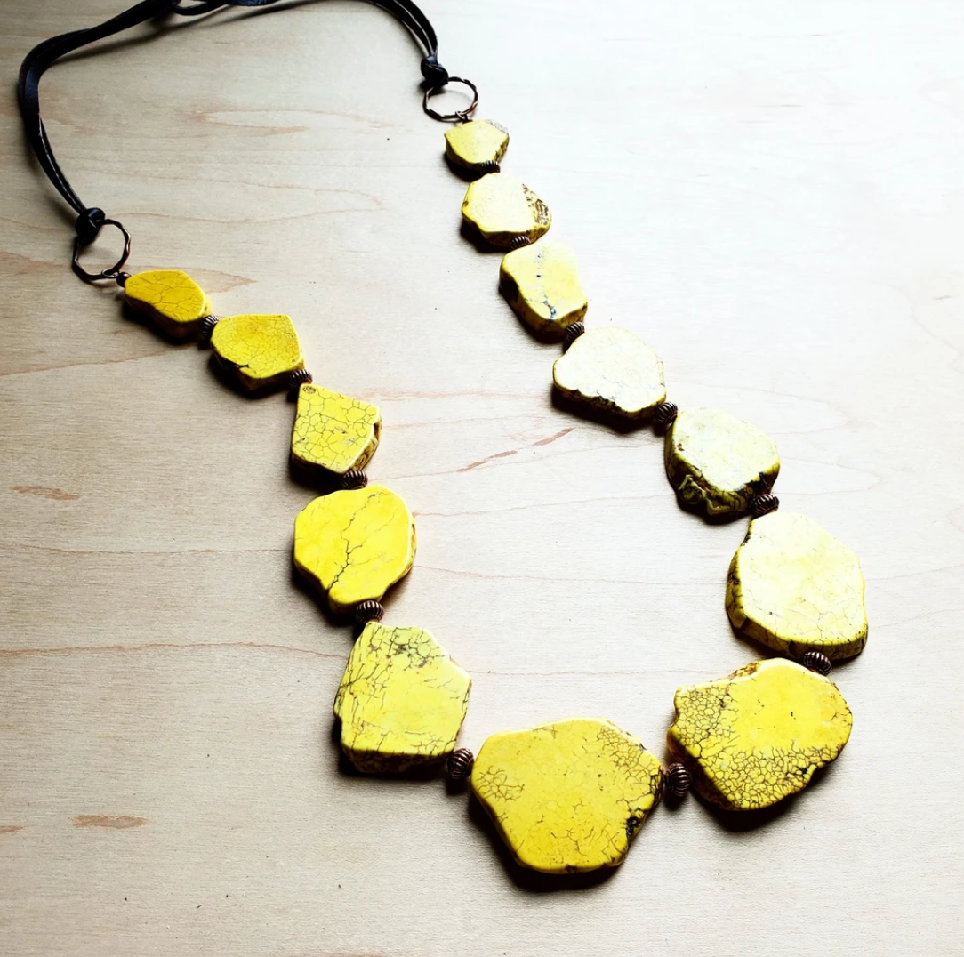 Sunshine Stone Necklace