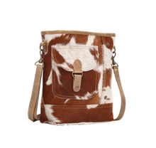 Load image into Gallery viewer, Jersey Cow Shoulder Bag