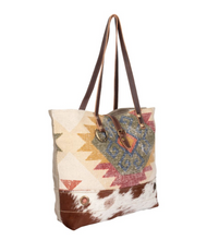 Load image into Gallery viewer, Orangey Blush Tote Bag