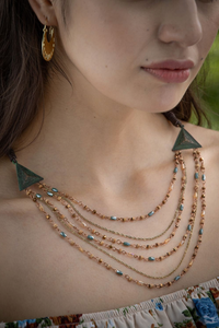 High Strung Layered Necklace
