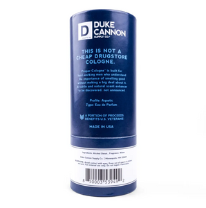 Duke Cannon- Proper Cologne