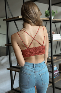 Crochet Pineapple Bralette