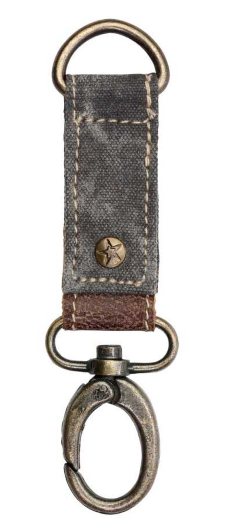 Canvas Key Fob