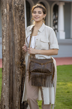 Load image into Gallery viewer, Cowgirls Love Leather Bag