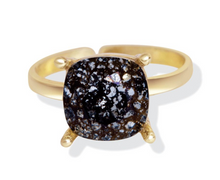Load image into Gallery viewer, Black Forest Swarovski Ring