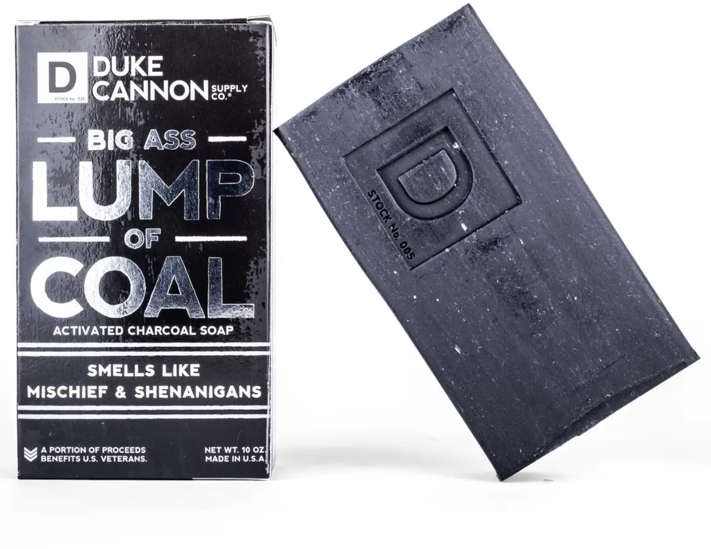 Duke Cannon Big Ass lump of Coal